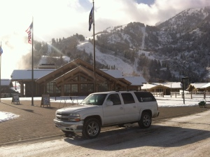 Snowbasin Airport Shuttle is provided by Black Diamond Shuttle